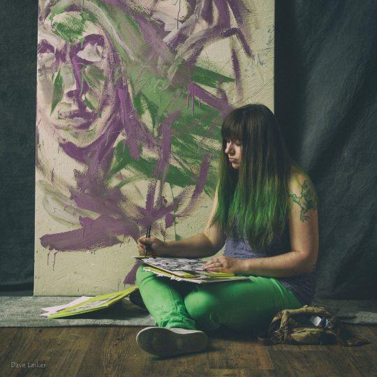 Emeline Fuller, artist