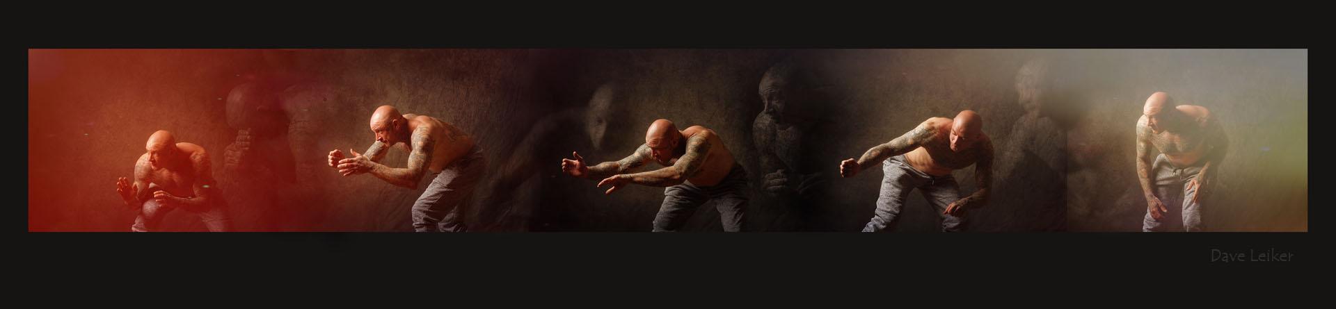 studies of martial arts moves